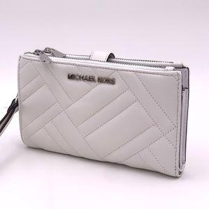 Michael Kors LG Double Zip Wallet Wristlet